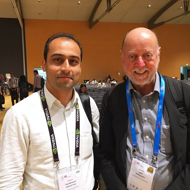 with Prof. Jack Dongarra at ISC 2017